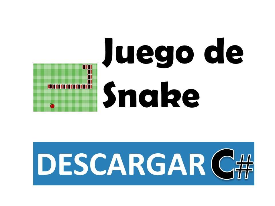Juego de snake en c escritorio incluye c digo tienda - Juego de escritorio ...